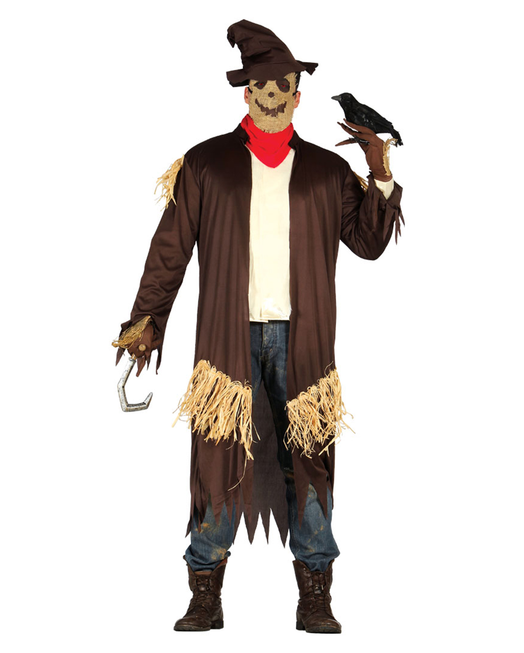 Vogelscheuche Herrenkostüm Für Halloween Horror Shopcom