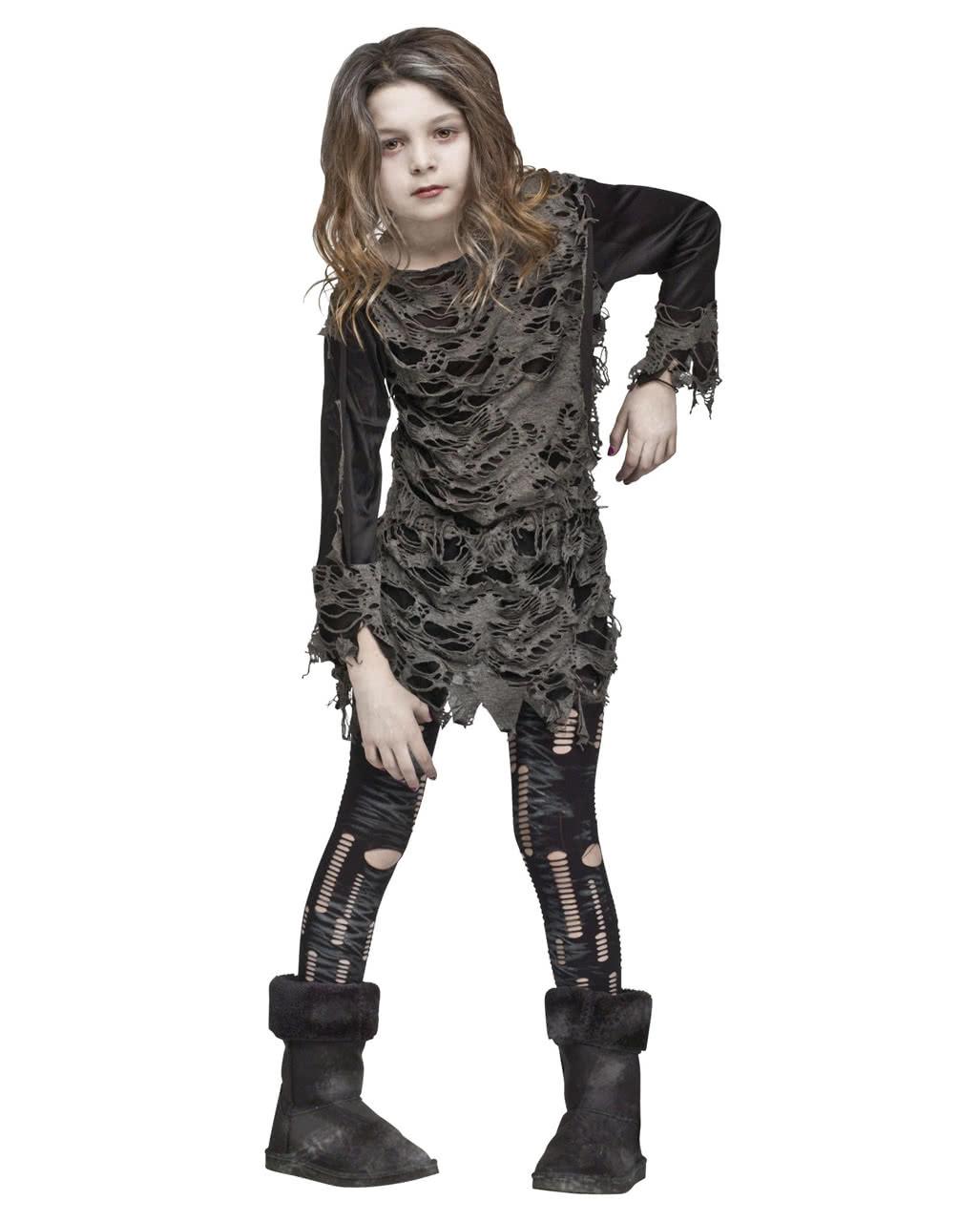 Walking Zombie Kostüm Für Mädchen Halloween Kostüm Horror Shopcom