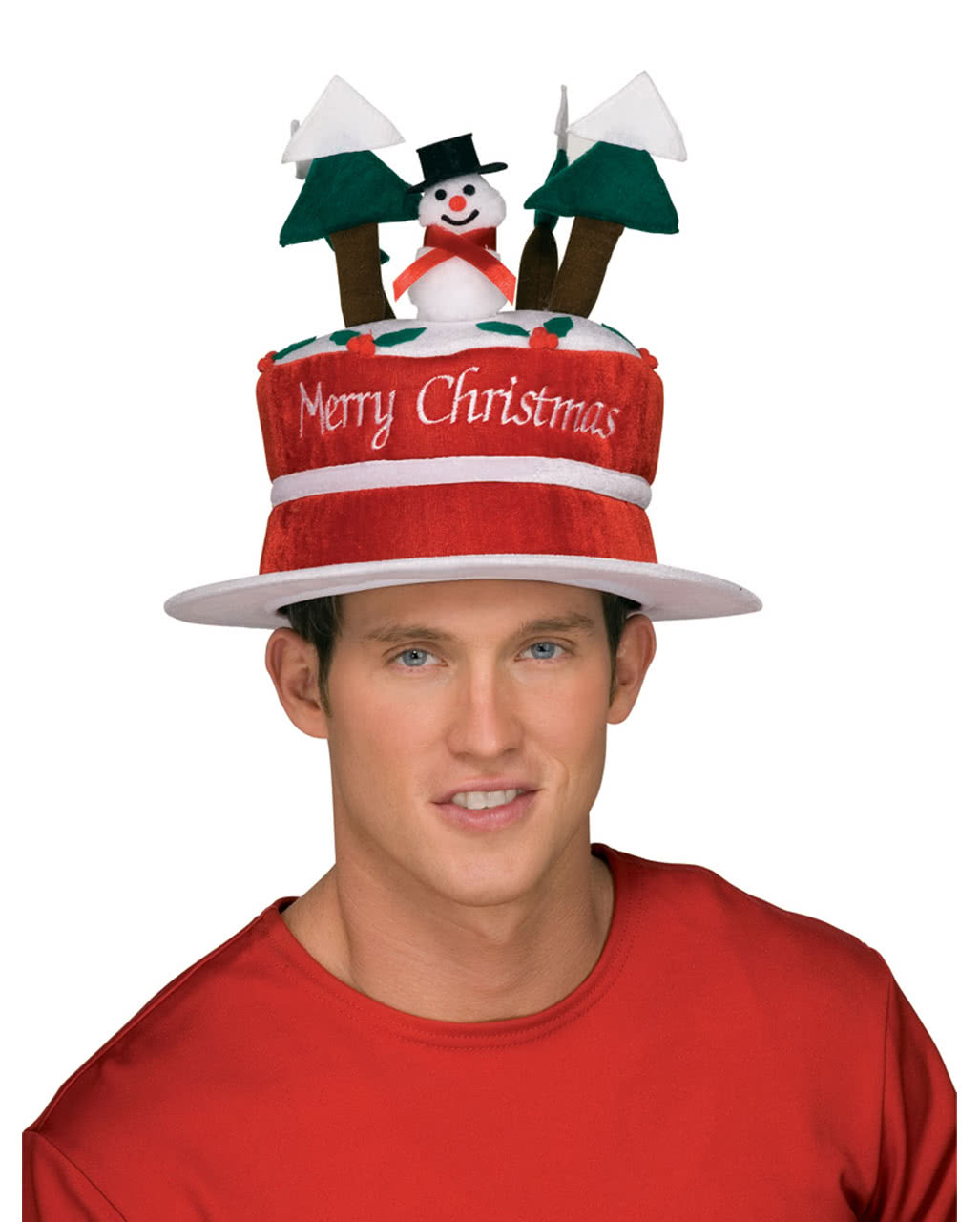 ade8bf54cad Christmas hat with snowman For the Christmas party