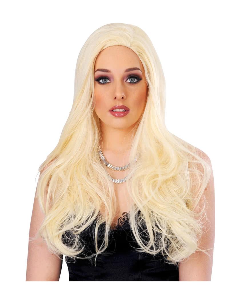 Wavy Long Hair Wig Blond  609e452fbc44
