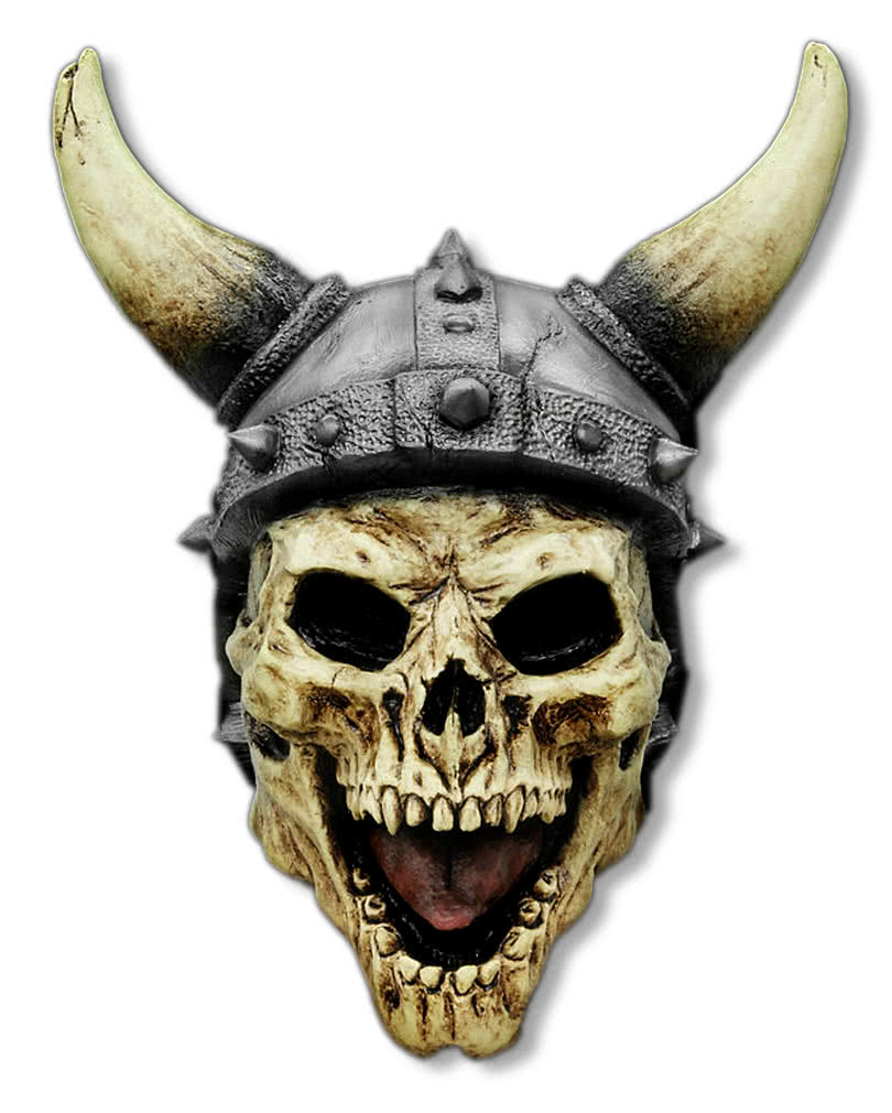 Uncategorized Viking Masks viking skull mask with horns horror shop com
