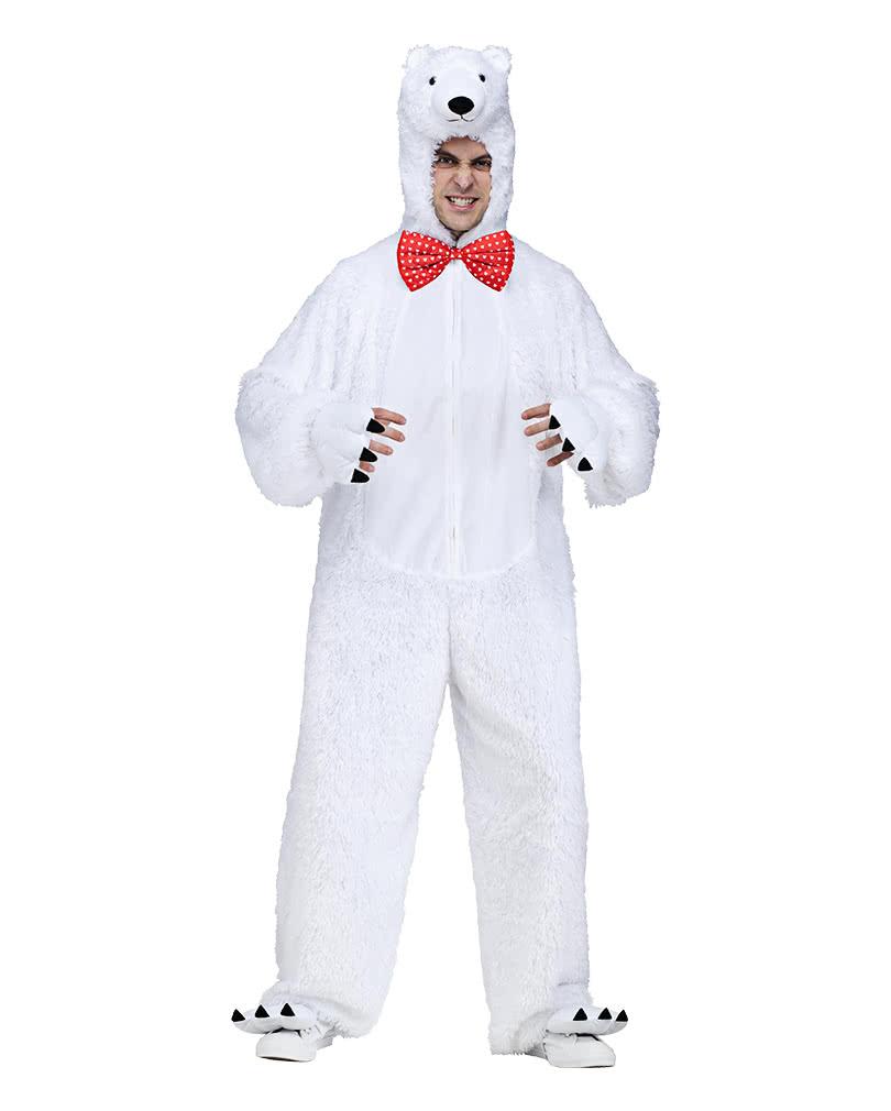 Polar Bear Costume   Adult polar bear outfit   horror-shop.com