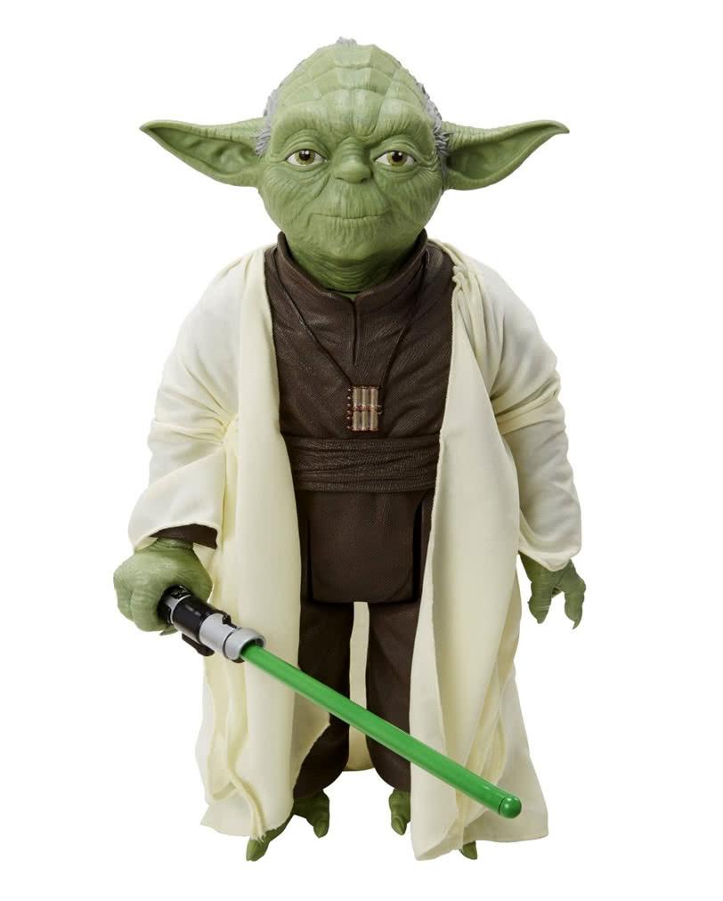 Star Wars Yoda Standfigur   Jedi Meister Sammlerfigur   Horror-Shop.com