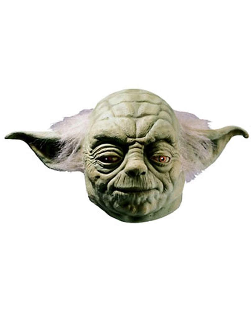 Yoda Latex Maske Star Wars Helme & Masken   Horror-Shop.com