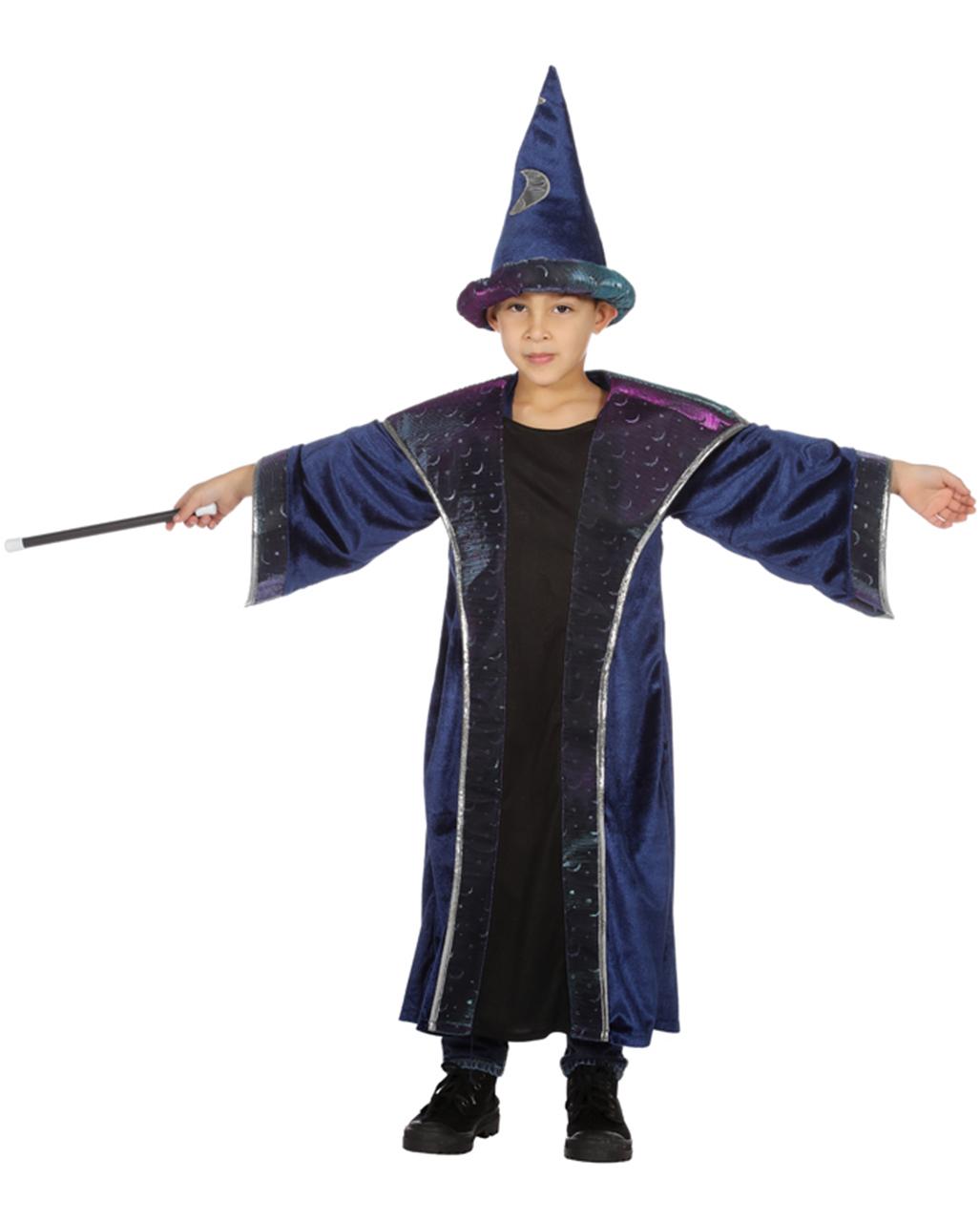 Zauberer Koralis Kinder Kostum Fur Jungen Kaufen Horror Shop Com