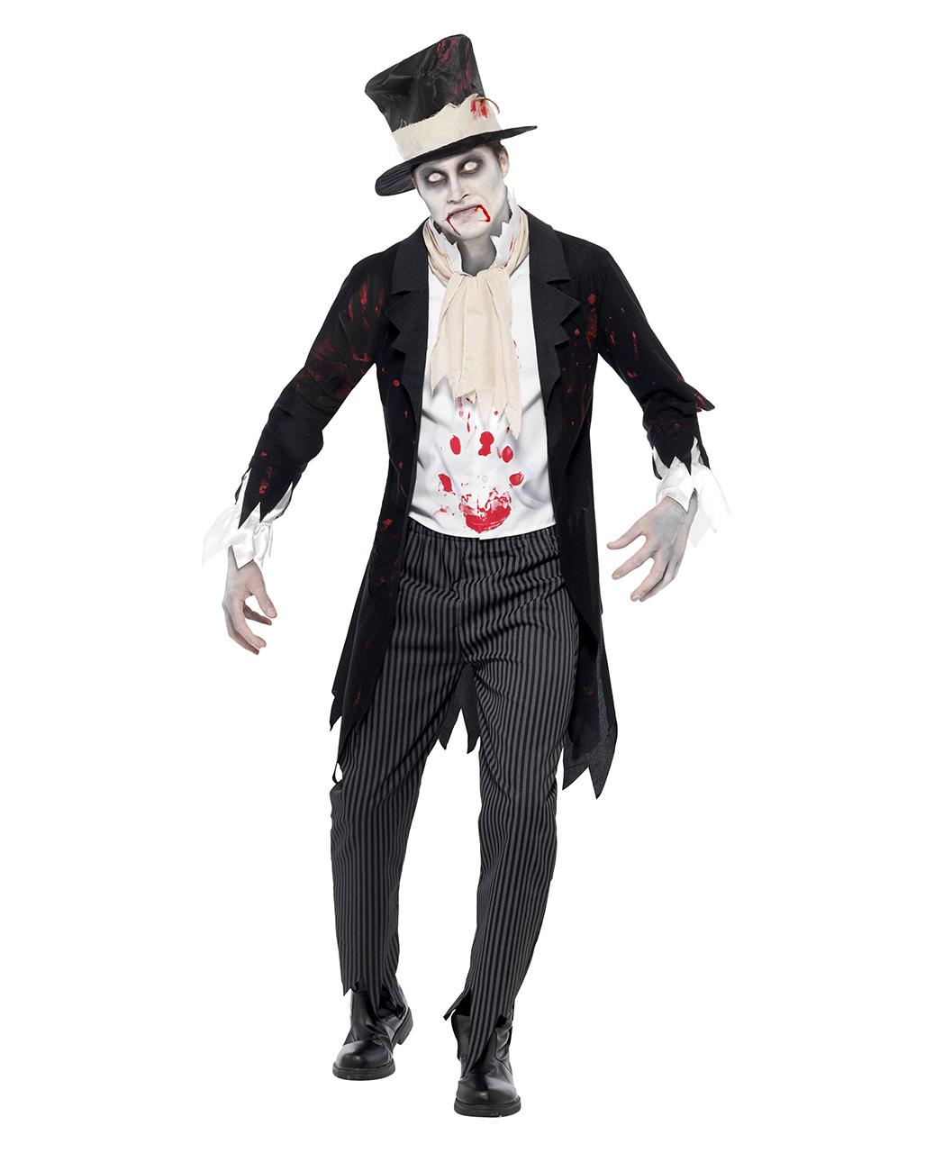 Zombie Brautigam Kostum Fur Halloween Kaufen Horror Shop Com