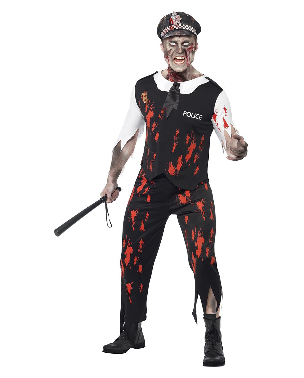 Sexy Zombie Polizist
