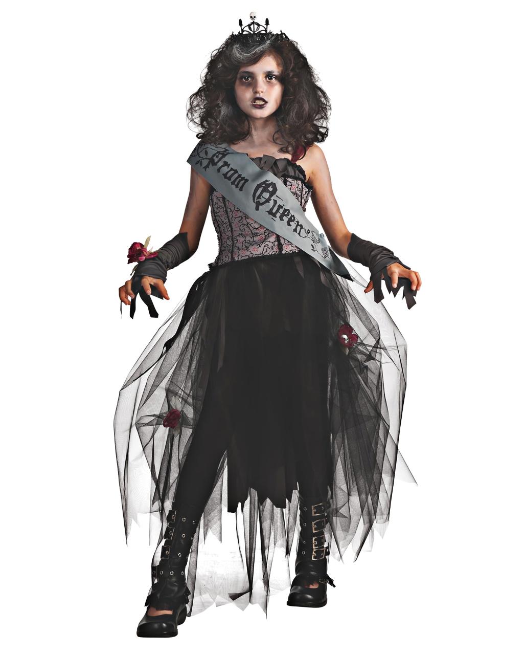 Prom Queen Kinderkostüm   Zombie Kostüm für Mädchen   Horror-Shop.com