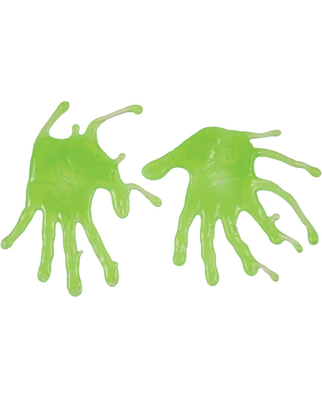 Zombie Schleim Fingerabdrücke für Halloween | Horror-Shop.com