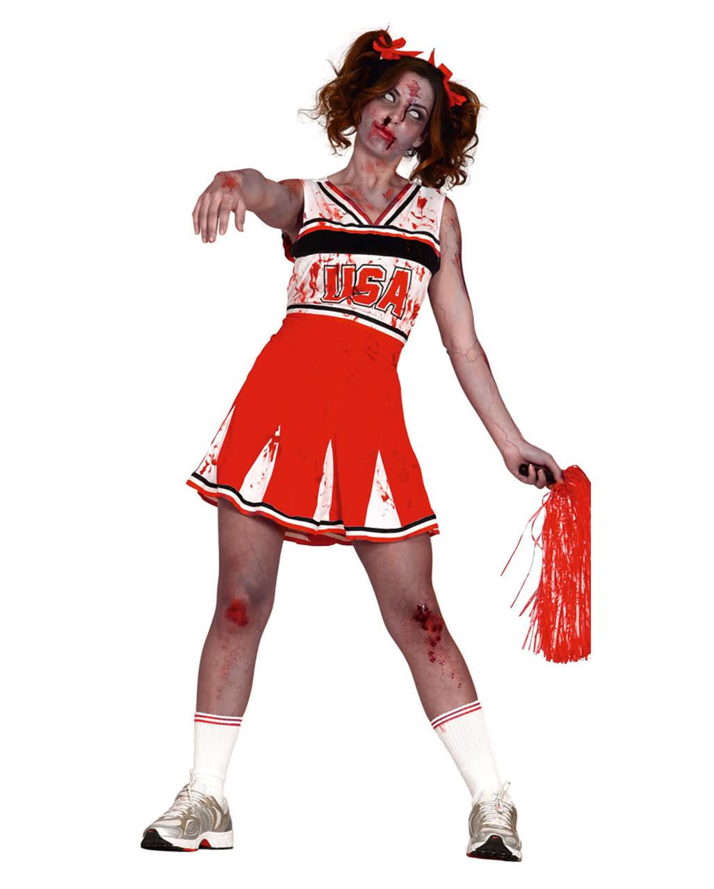 Cheerleader Zombie Kostum Fur Zombie Walk Halloween Horror Shop Com