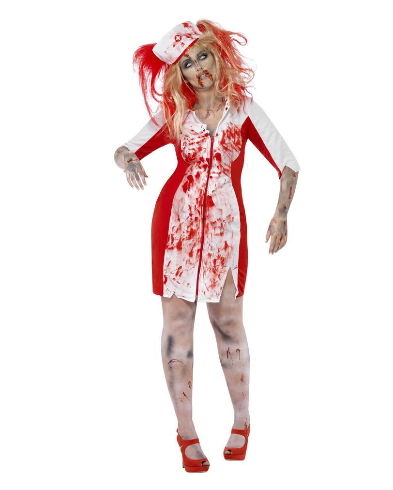 Zombie Nurse Costume Plus Size Horror Nurse Outfit Horror Shop