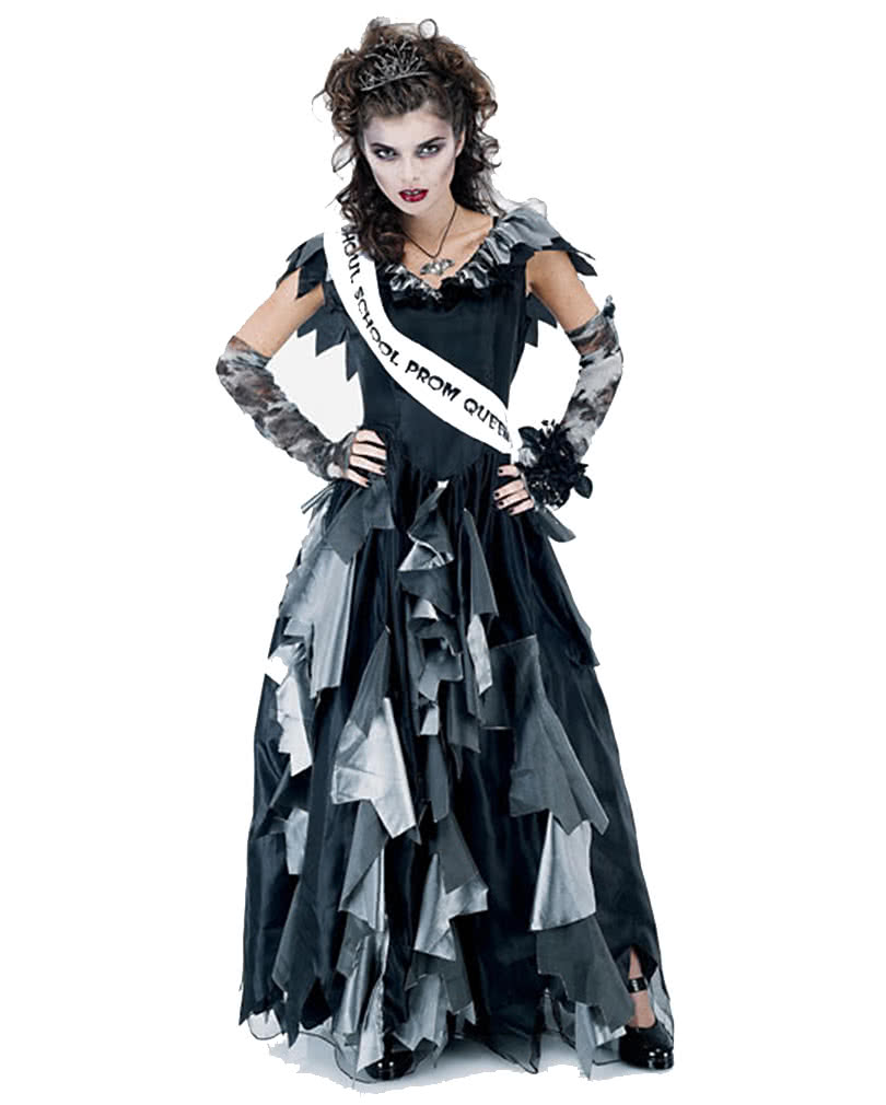 Zombie Prom Queen Kostum Gr M Zombie Kostume Fur Damen Horror