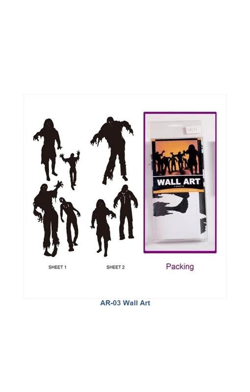 Zombie Wall Stickers | Creepy Horror Wall Decals | horror-shop.com