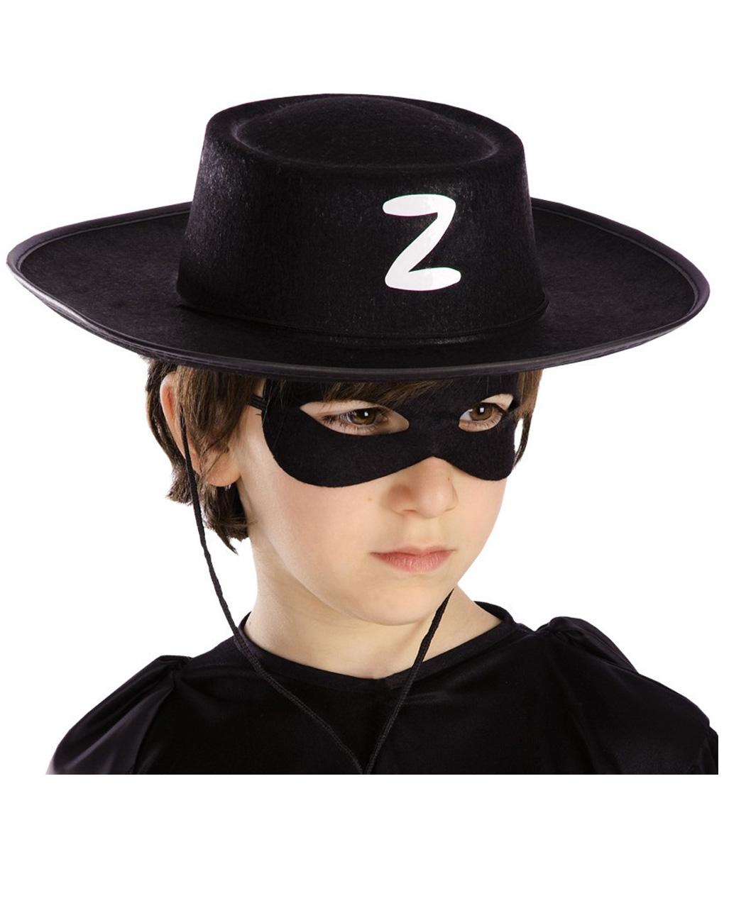 Zorro Hat For Children as costume accessories  f4f65160905