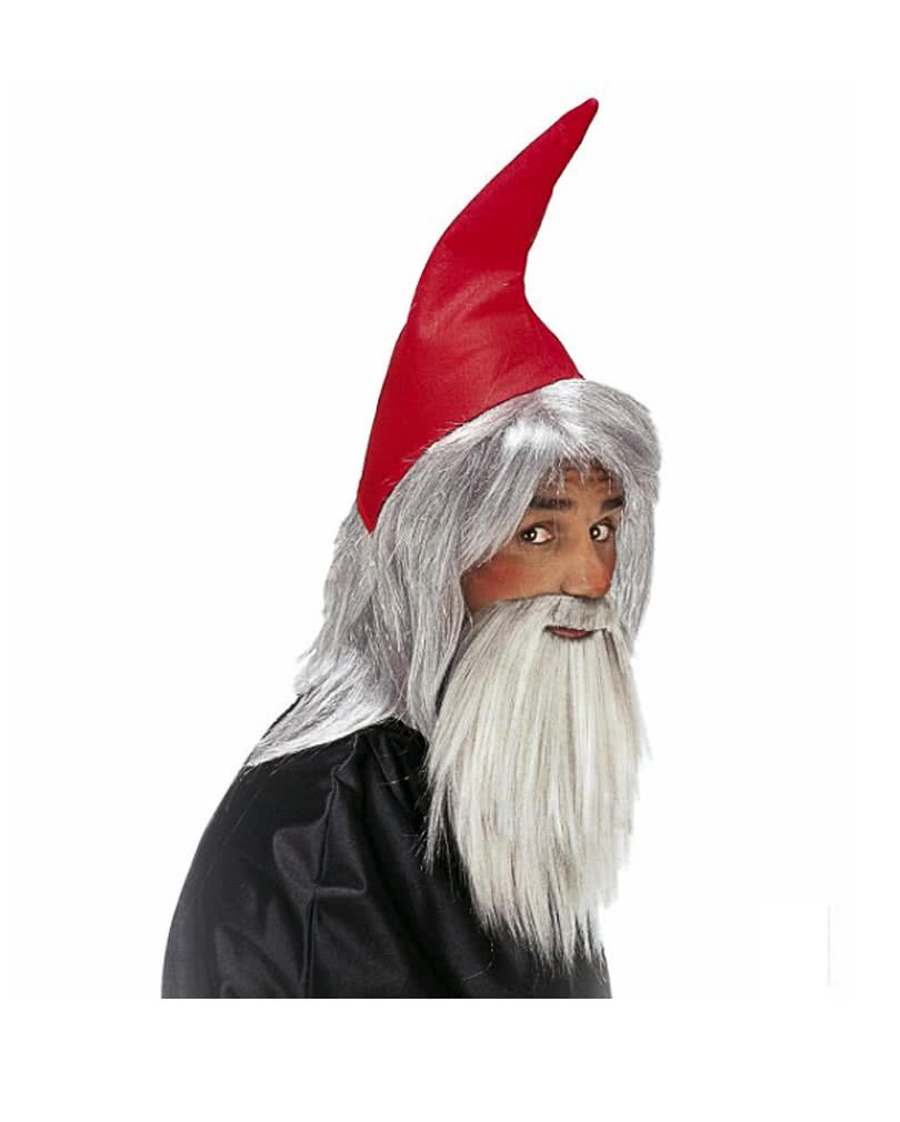 96504763060 Dwarf red hat with beard