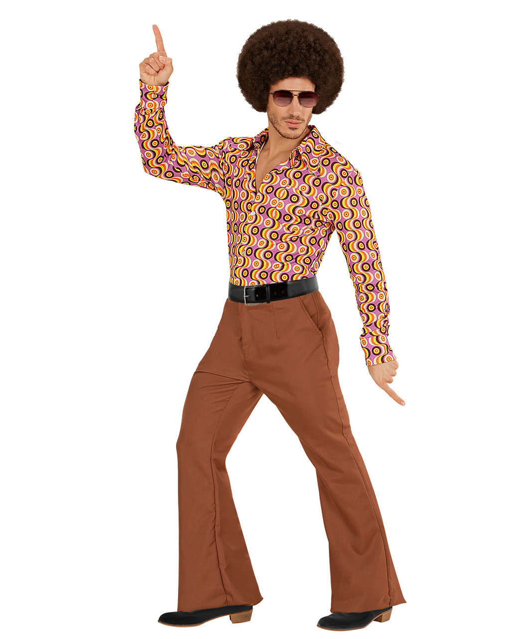 Groovy 70s Men S Breeches Brown To Buy Horror Shop Com