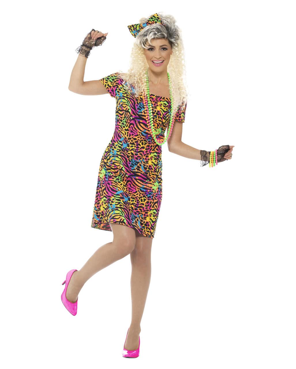 80s Party Animal Kostüm für Karneval | Horror-Shop.com