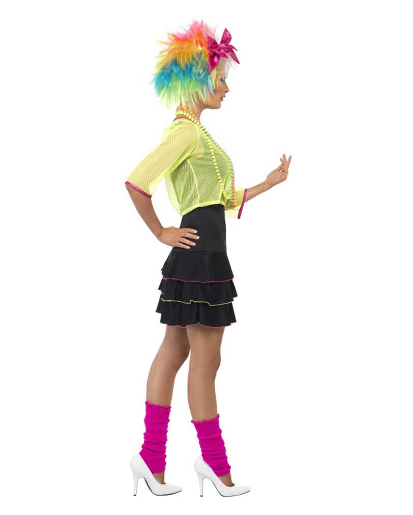 80er Jahre Disco Damenkostüm   Verkleidung für 80er Mottoparty ...
