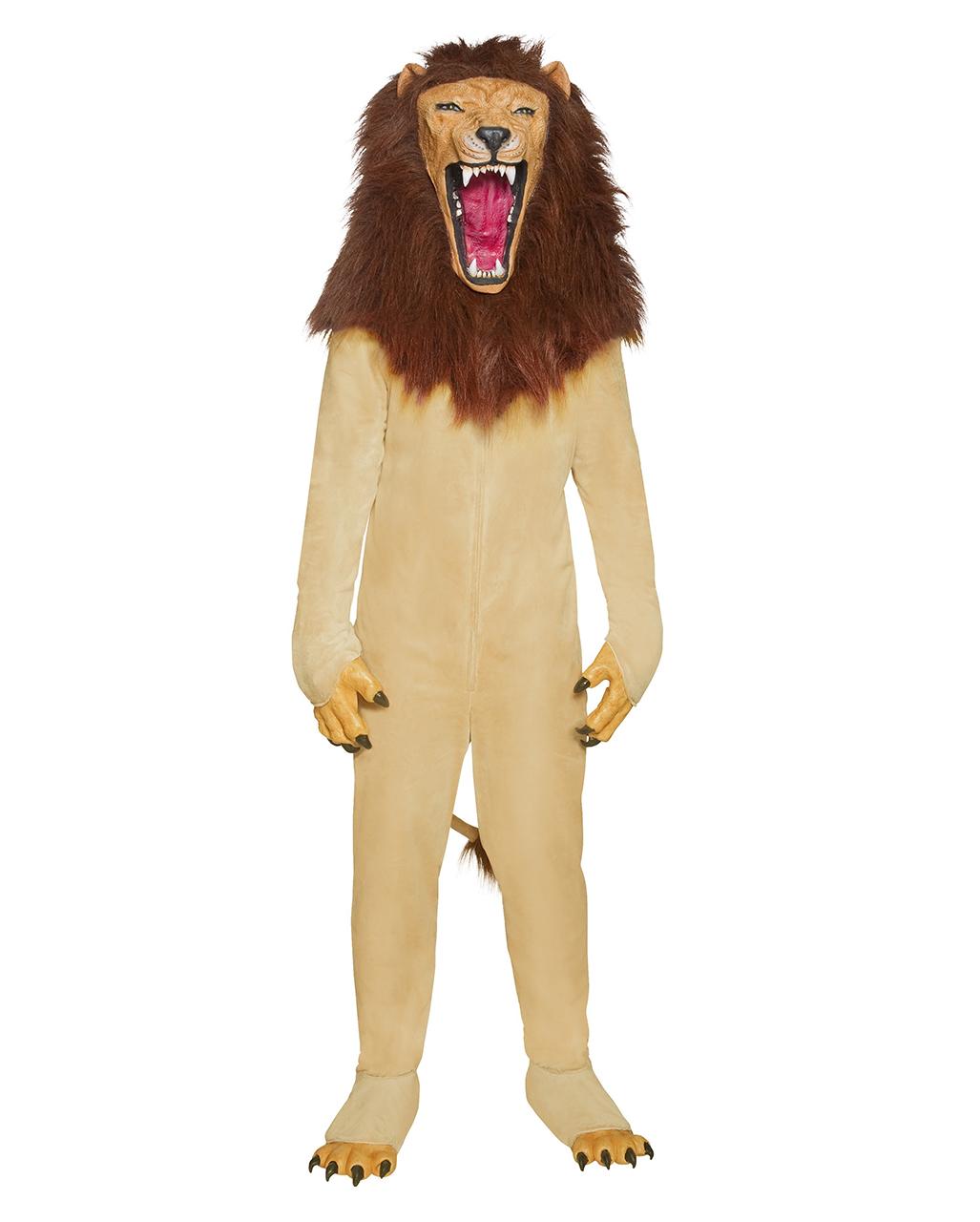 Roaring lion costume Roaring lion costume ...  sc 1 st  Horror-Shop & Roaring lion costume | Creepy lion disguise for Halloween | horror ...