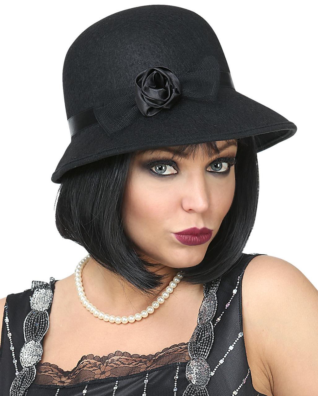 f70237df7456f Charleston Flapper Cloche Hat Charleston Flapper Cloche Hat ...