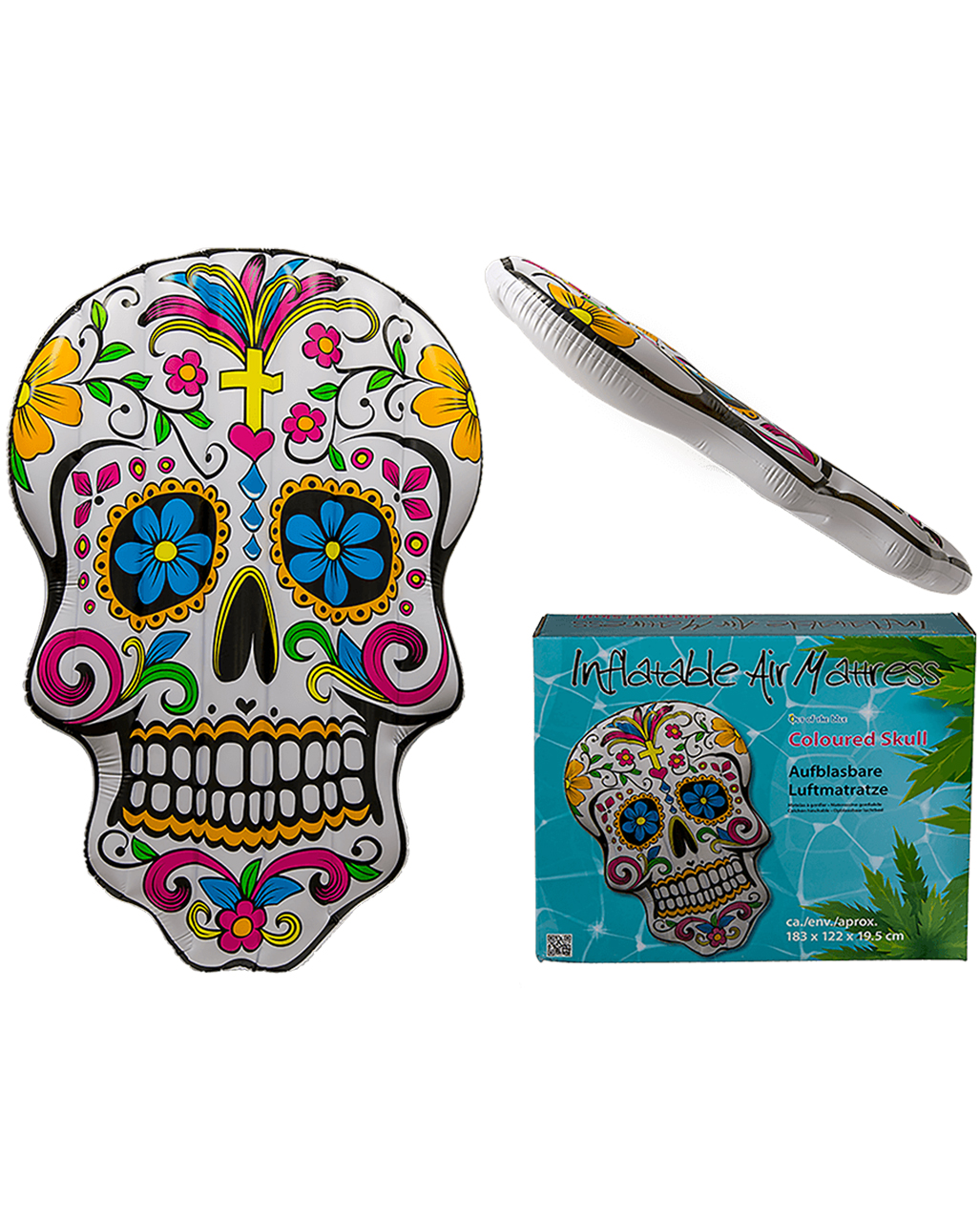 Day Of The Dead Air Mattress for your beach party   horror-shop.com