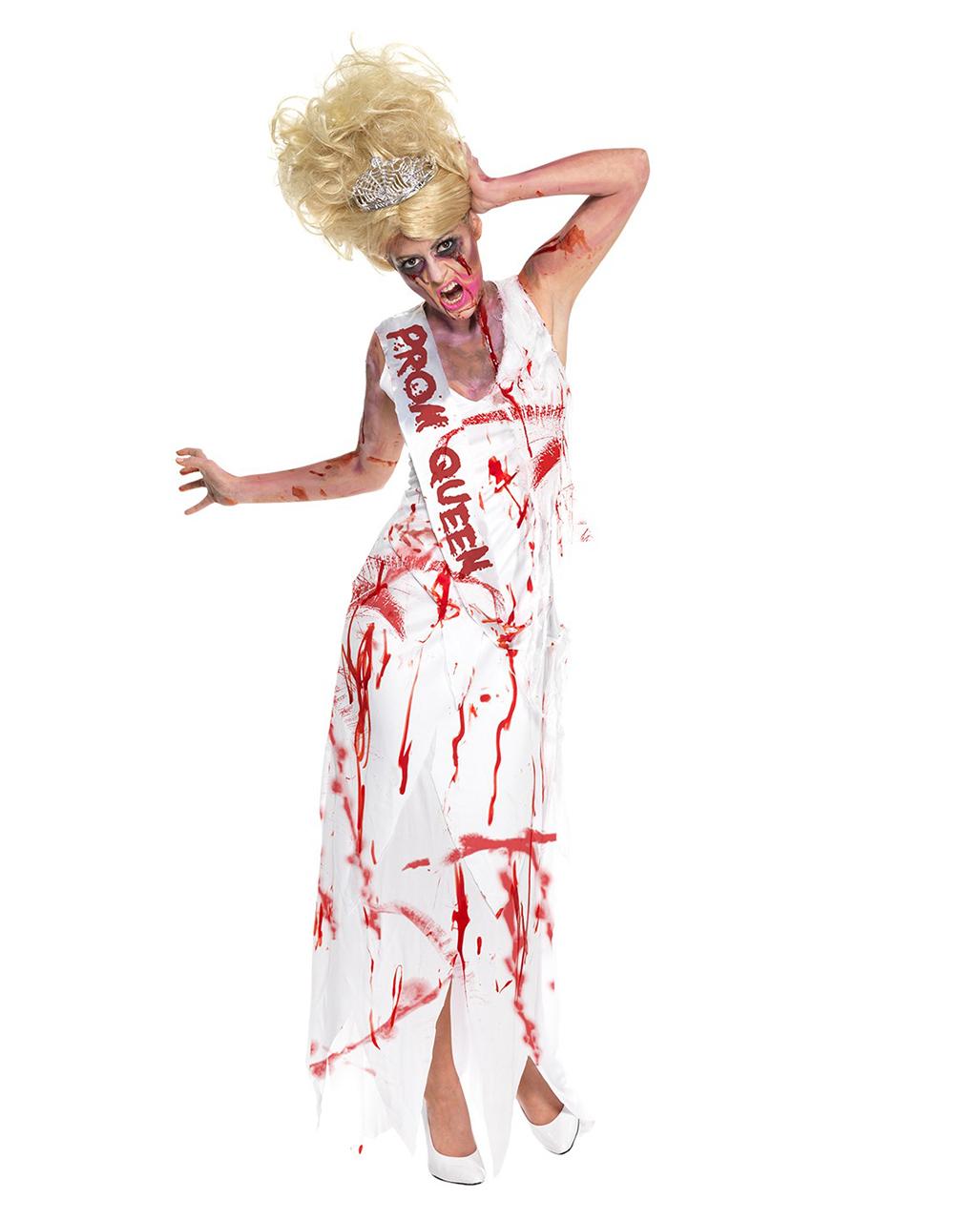 High School Horror Zombie Prom Queen   Zombie Prom Queen Kostüm ...