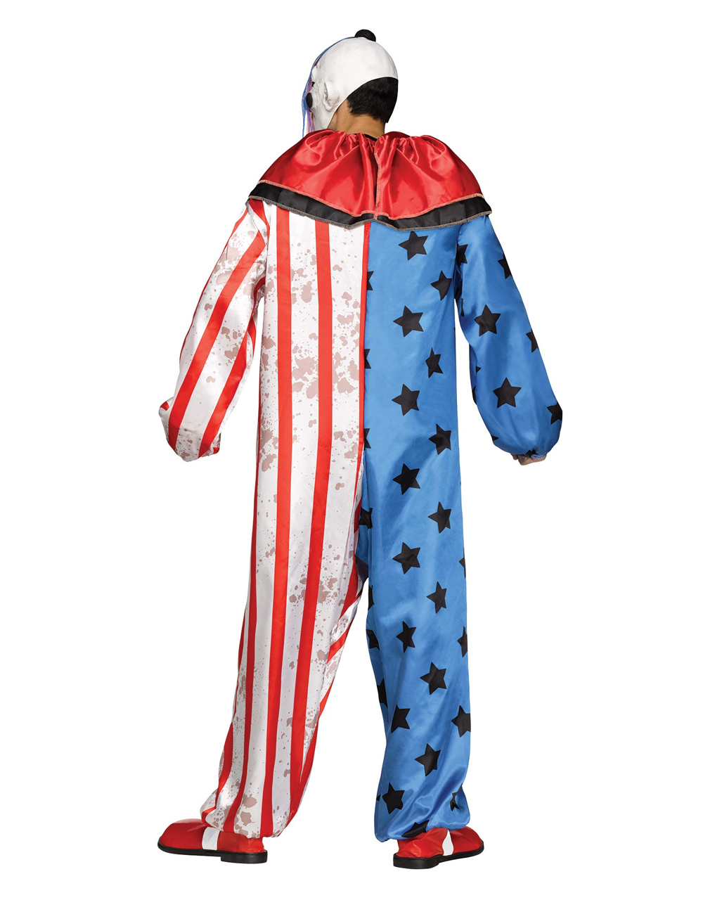 Horror circus clown costume with mask Horror circus clown costume with mask ...  sc 1 st  Horror-Shop.com & Horror circus clown costume with mask   Halloween clown disguise ...