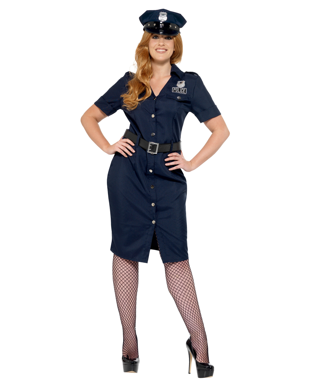 Curvy NYC Policewoman Plus Size Costume Curvy NYC Policewoman Plus Size Costume ...  sc 1 st  Horror-Shop & Curvy NYC Policewoman Plus Size Costume for carnival | horror-shop.com