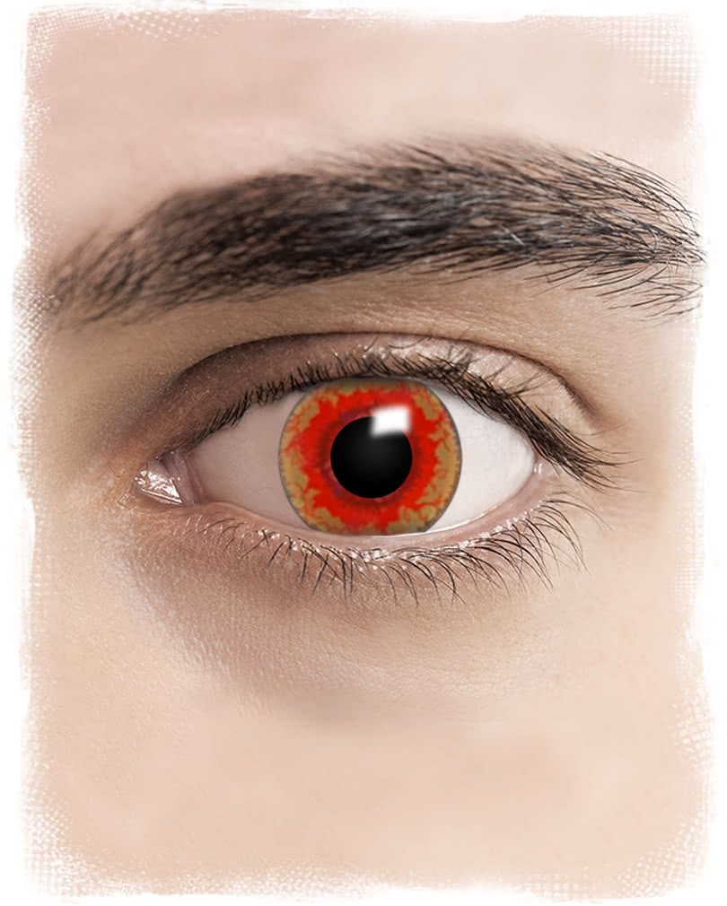 Wonderful Monster Contact #5: Red Monster Contacts Red Monster Contacts