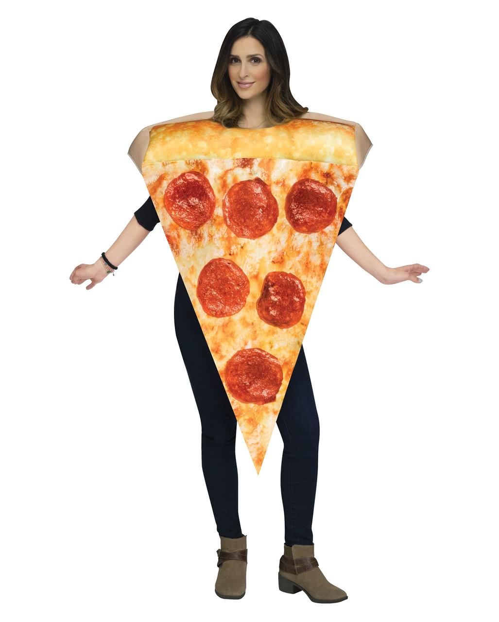 Unisex Pizza Costume Unisex Pizza Costume ...  sc 1 st  Horror-Shop.com & Unisex Pizza Costume For carnival | horror-shop.com