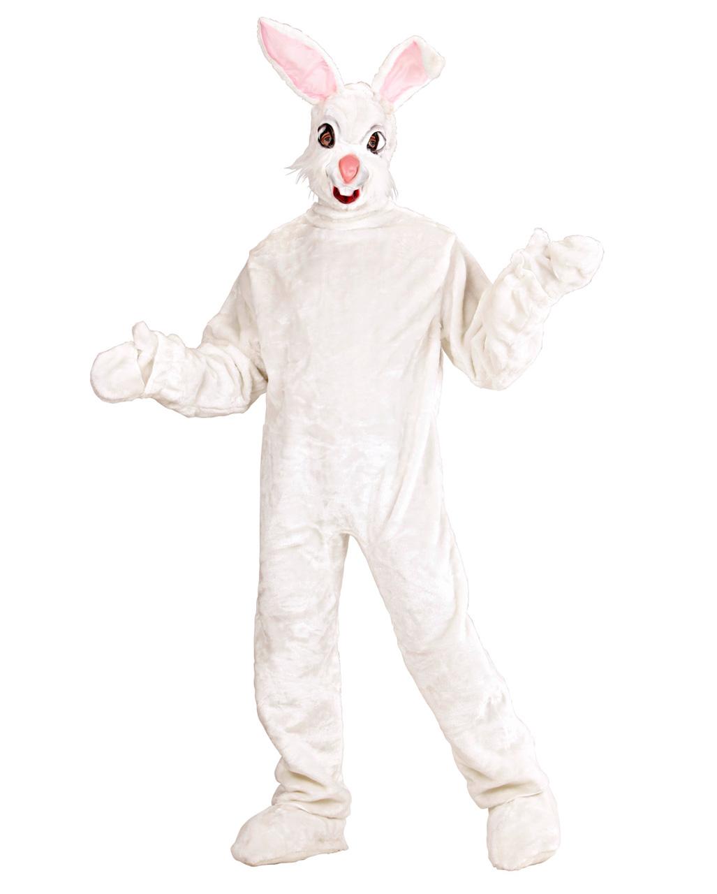 Plush Bunny Costume White Plush Bunny Costume White ...  sc 1 st  Horror-Shop.com & Plush Bunny Costume White | Rabbit made of plush costume | horror ...