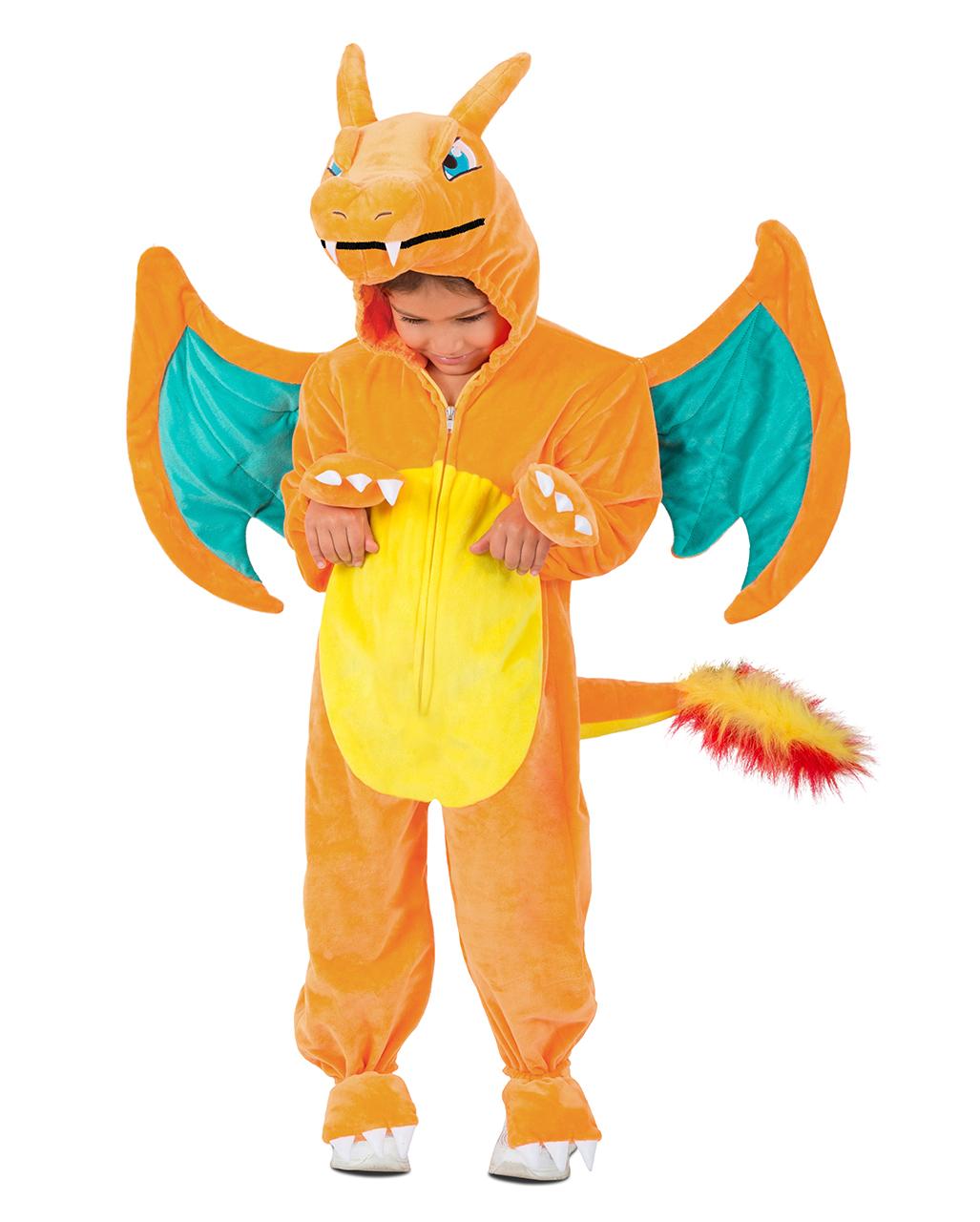 0c564a6a8 Pokemon Glurak Dragon Child Costume Pokemon Glurak Dragon Child Costume ...