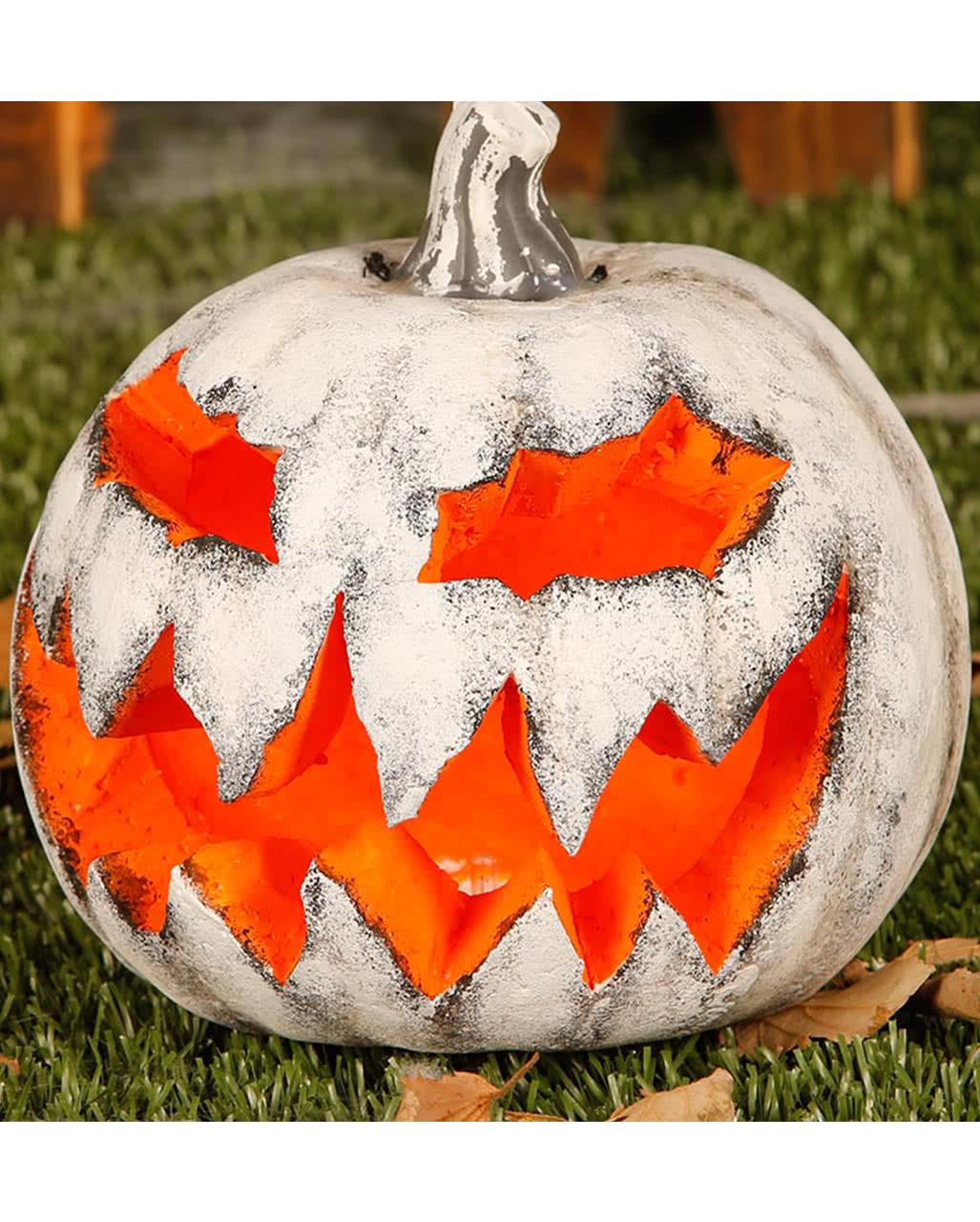Leuchtender Halloween Deko Kürbis Jack\'o\'Lantern | Horror-Shop.com