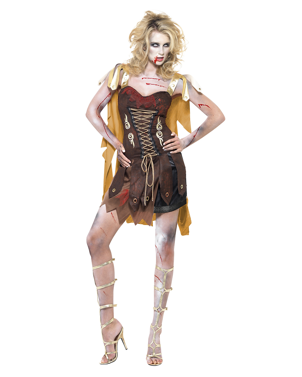 Zombie Gladiator costume for women Zombie Gladiator costume for women ...  sc 1 st  Horror-Shop.com & Zombie Gladiator costume for women | Cheap Costume Zombie Walk ...