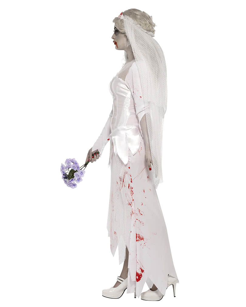 Zombiebraut Kostüm   Blutverschmiertes Hochzeitskleid   Horror-Shop.com