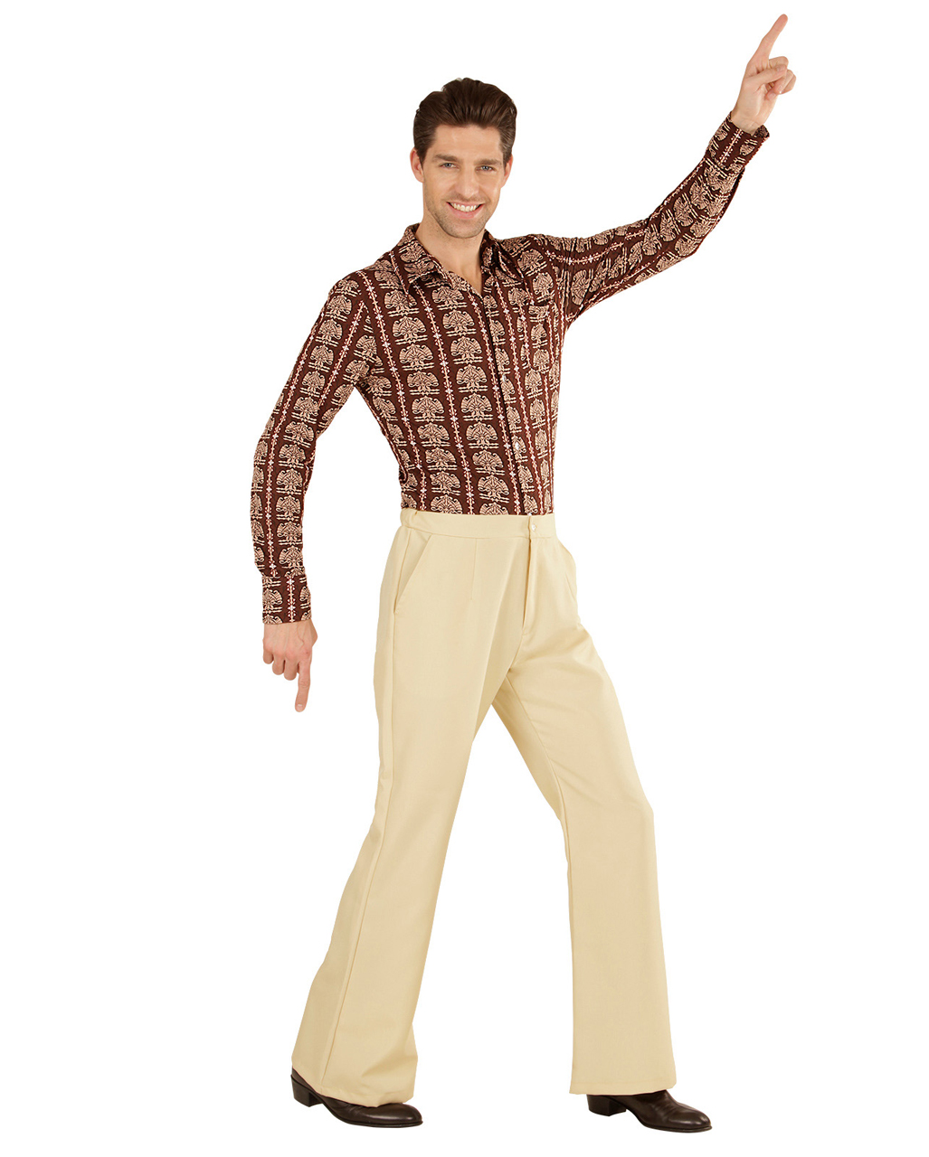 Groovy 70s Men S Breeches Beige To Buy Horror Shop Com