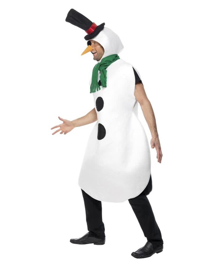 d60b5d3f80dc7 Snowman costume with scarf - Funny Christmas Costume