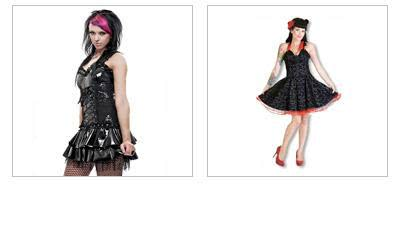 Gothic Skirts & Dresses