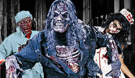 zombies zombie masken zombie make up kaufen horror. Black Bedroom Furniture Sets. Home Design Ideas