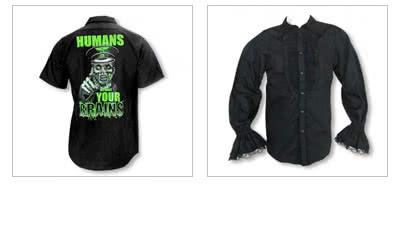 Gothic Hemden & Shirts