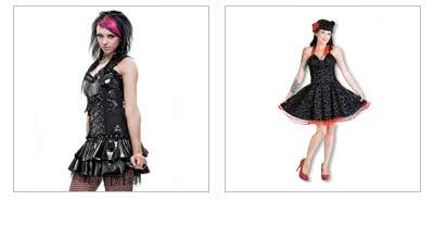 Gothic Röcke & Kleider
