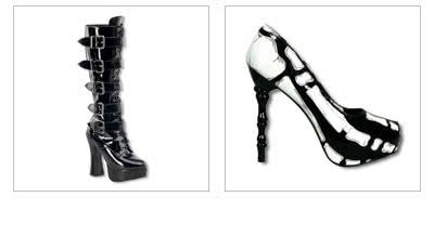 Gothic Shoes and Platform Boots
