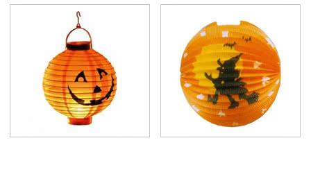 Halloween Lampions