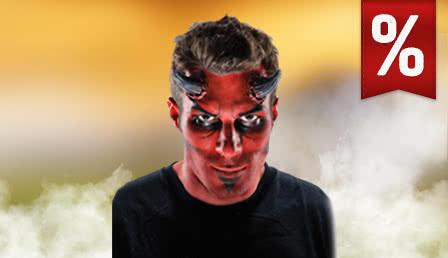 Reduced Halloween makeup