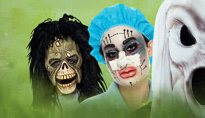 Flocked PVC Masks