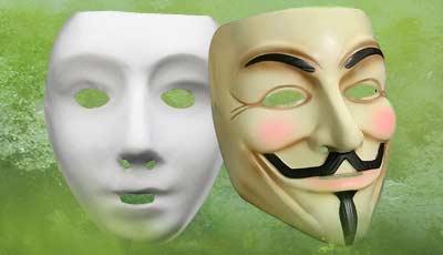 Satin PVC Masks