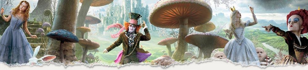 Alice im Wunderland Kostüme