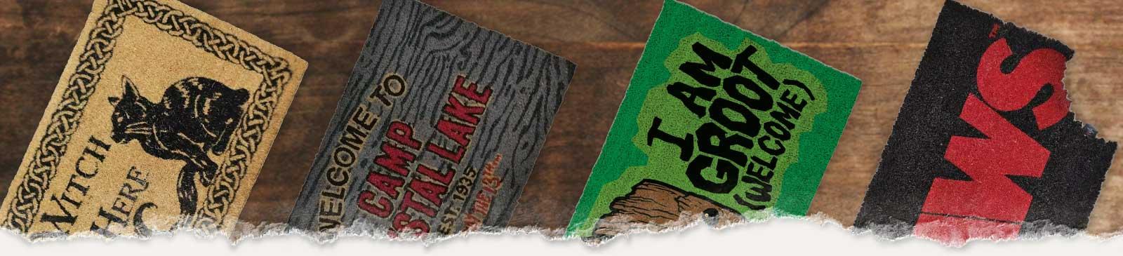 Horror Fußmatten & Gothic Teppiche