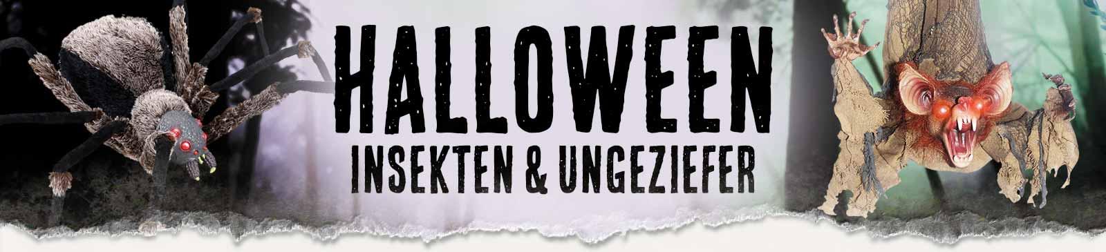 Halloween Insekten & Ungeziefer