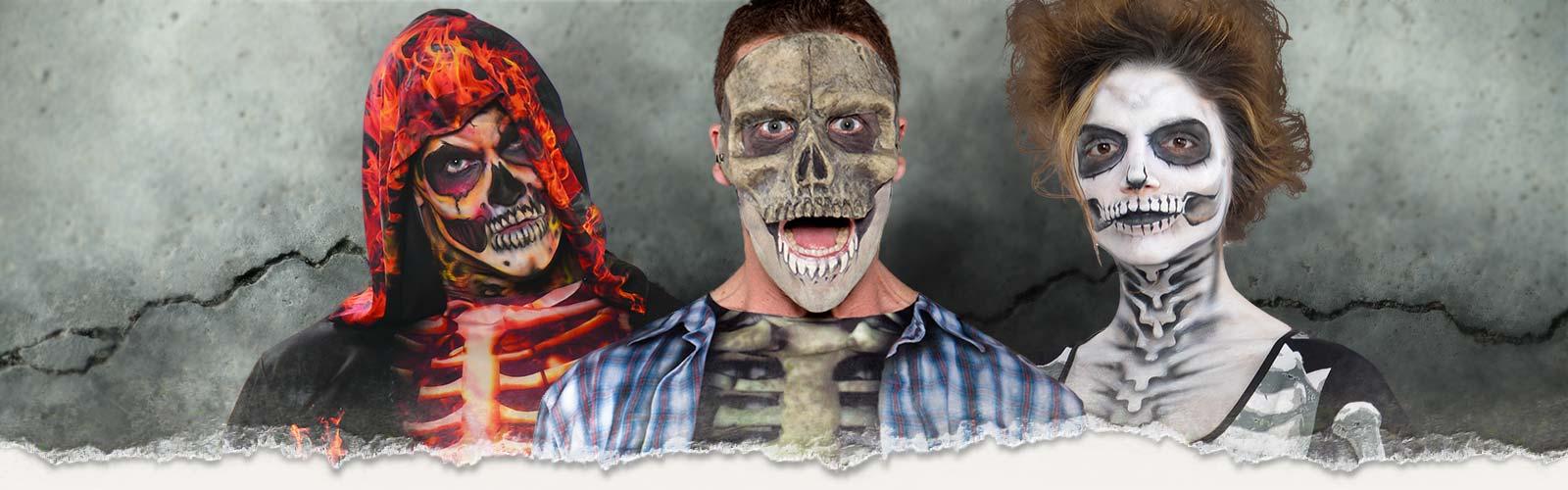 Skelett Kostüm Zubehör